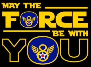 may the force be with you logo